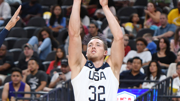 Pat Connaughton 7 Points Vs USA Blue | 8.9.19
