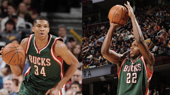Giannis And Khris On The Run 2014-15 | Throwback Thursday
