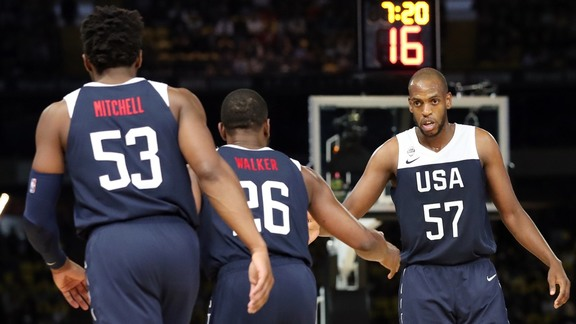 Kane Pitman Reports From USA Basketball Finale In Melbourne | 8.24.19