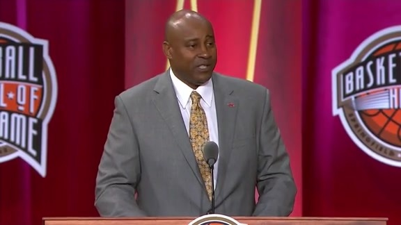 Sidney Moncrief Hall of Fame Induction Retrospective & Speech | Basketball Hall of Fame 2019