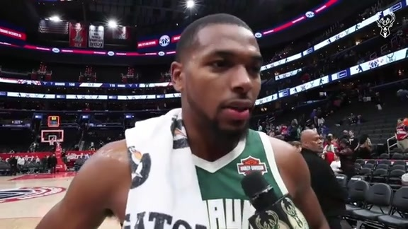 Sterling Brown Walk Off Interview | 10.13.19