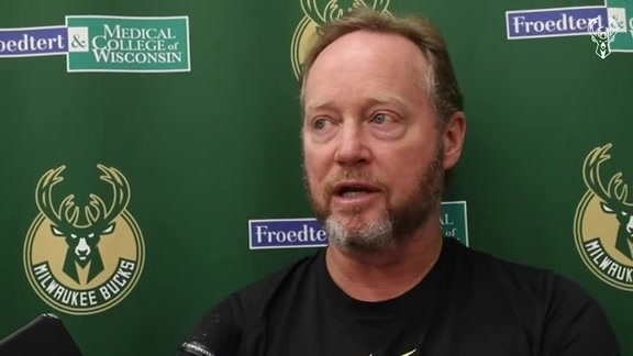 Coach Budenholzer Media Availability | 10.19.19