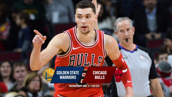BullsTV Preview: Bulls vs. Warriors - 1.17.18
