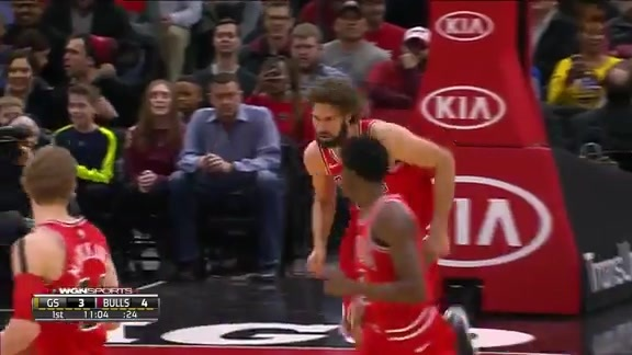 Lopez throws it down!