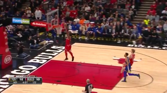 Nwaba with a steal and a dunk