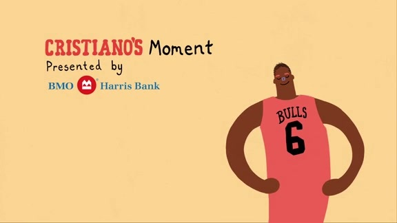 Cristiano's Moment: Presented by BMO Harris Bank