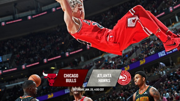 BullsTV Preview: Bulls at Hawks - 1.20.18