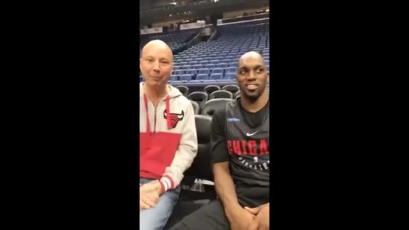 Facebook Live with Chuck Swirsky and Quincy Pondexter
