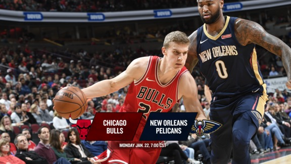 BullsTV Preview: Bulls at Pelicans - 1.22.18