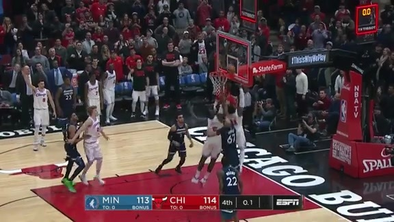 Relive the exciting, final 77 seconds against the Timberwolves