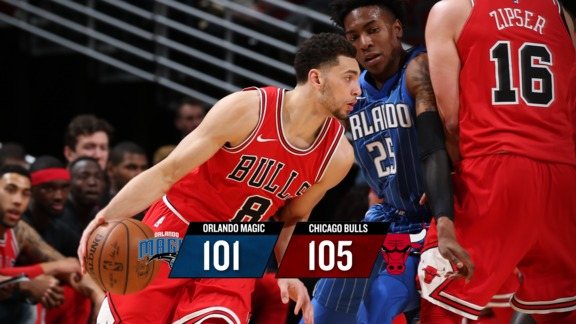 BullsTV Recap: Magic 101, Bulls 105 - 2.12.18