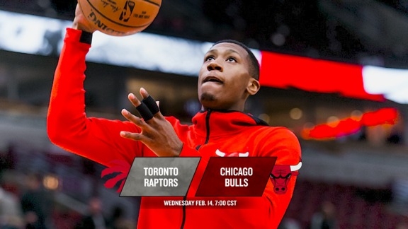 BullsTV Preview: Bulls vs. Raptors - 2.14.18