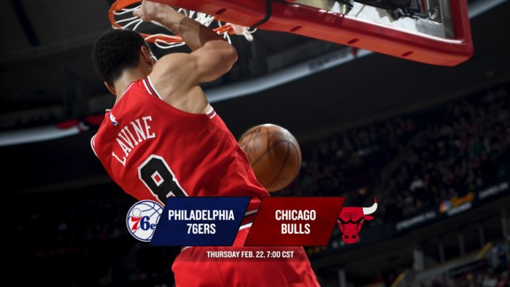 BullsTV Preview: Bulls vs. 76ers - 2.22.18