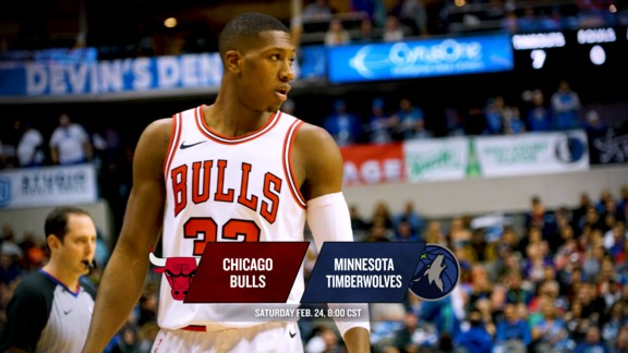 BullsTV Preview: Bulls at Timberwolves - 2.24.18