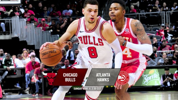 BullsTV Preview: Bulls at Hawks - 3.11.18