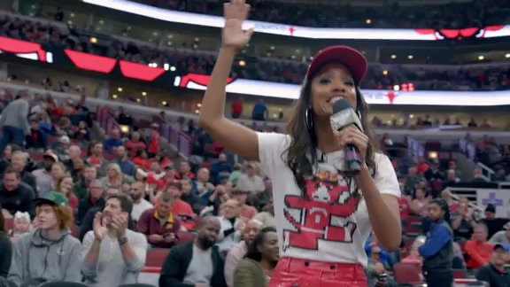 A full day with Bulls in-arena host, Cortney Hall - Presented by 47 Brand