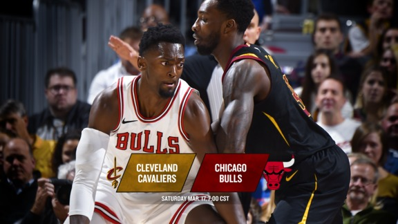 BullsTV Preview: Bulls vs. Cavaliers - 3.17.18