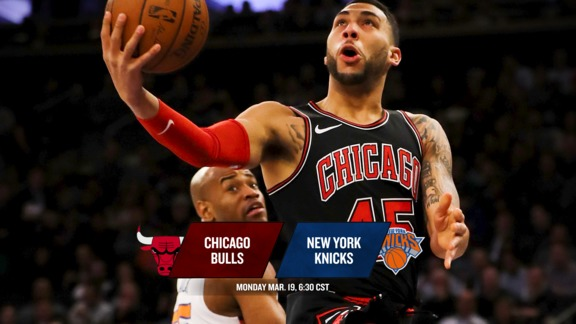 BullsTV Preview: Bulls at Knicks - 3.19.18