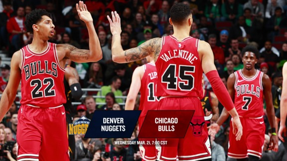 BullsTV Preview: Bulls vs. Nuggets - 3.21.18