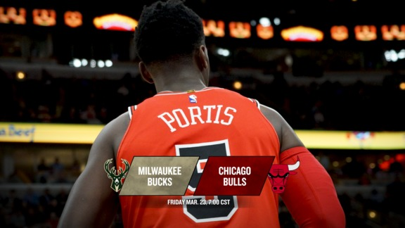 BullsTV Preview: Bulls vs. Bucks - 3.23.18