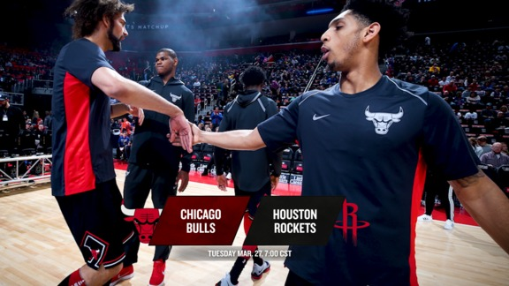 BullsTV Preview: Bulls at Rockets - 3.27.18