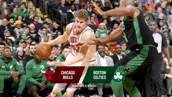 BullsTV Preview: Bulls at Celtics - 4.6.18
