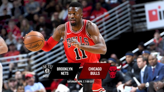 BullsTV Preview: Bulls vs. Nets - 4.7.18
