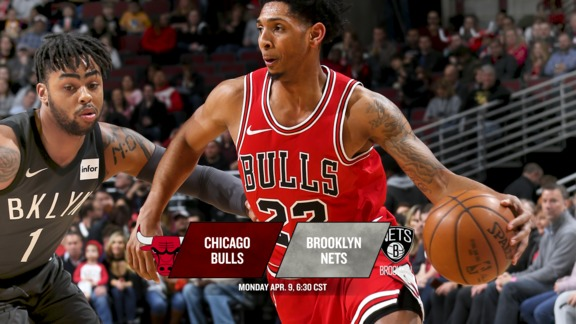 BullsTV Preview: Bulls at Nets - 4.9.18