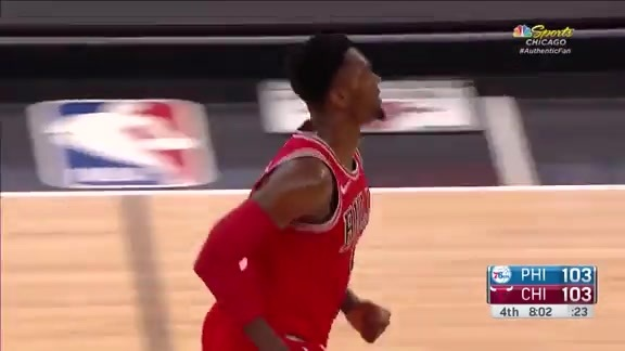 Bobby Portis scores a career high 38 against Philly