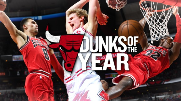 Top 10 Dunks of the Year