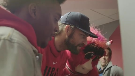 Chicago Bulls Teen Lounge Opening At Advocate Children's Hospital