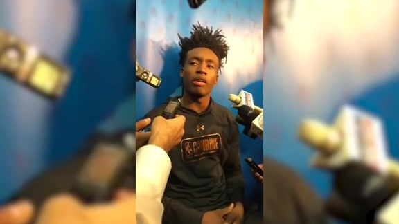 Live with Collin Sexton at the NBA Draft Combine