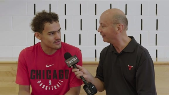 Trae Young sits down with BullsTV