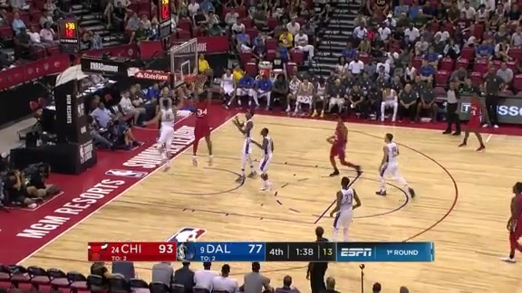 Wendell Carter Jr. drops 19pts and 9reb in win over Dallas