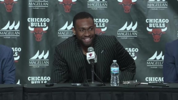 Chicago Bulls Introduce Jabari Parker