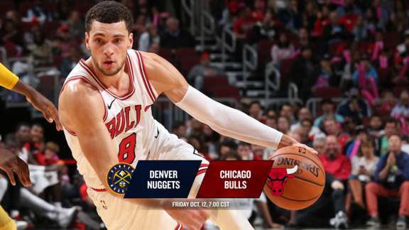 BullsTV Preview: Bulls vs. Nuggets - 10.12.18