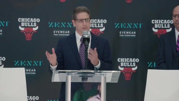 Chicago Bulls x Zenni Optical Press Conference