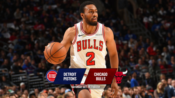 BullsTV Preview: Bulls vs. Pistons - 10.20.18