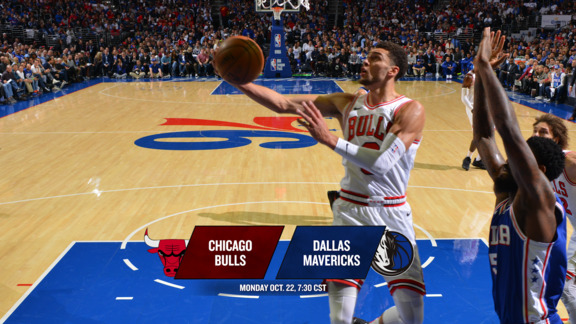 BullsTV Preview: Bulls at Dallas - 10.22.18