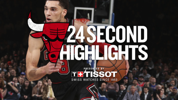 Tissot 24 Second Recap of Last Night's Win