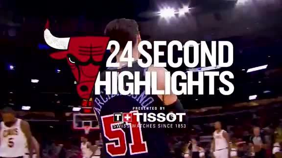 Tissot 24-second recap of last night's win