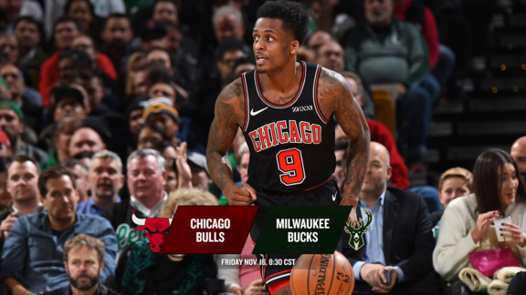 BullsTV Preview: Bulls at Bucks - 11.16.18