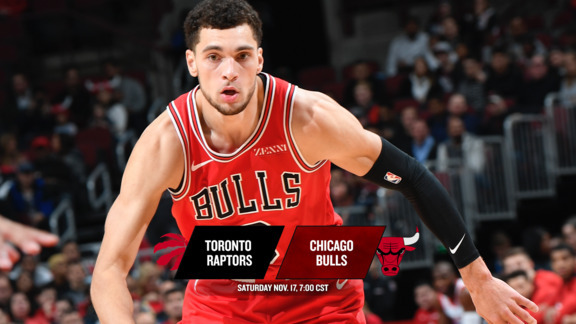 BullsTV Preview: Bulls vs. Raptors - 11.17.18