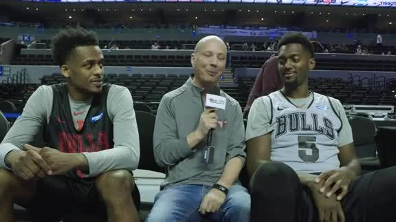 BullsTV Talks with Antonio Blakeney and Bobby Portis in Mexico City