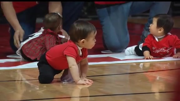 Annual Baby Race - Chicago Bulls Halftime, presented by Advocate Health Care
