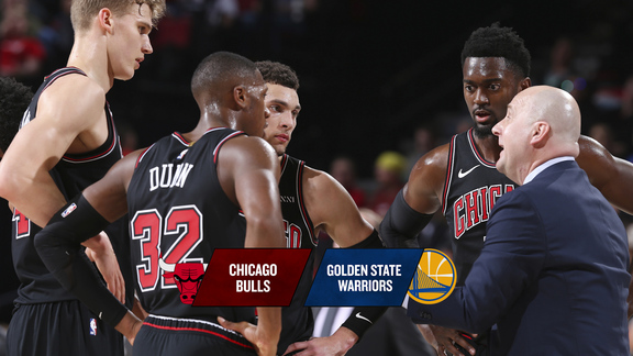 BullsTV Preview: Bulls at Warriors - 1.11.19