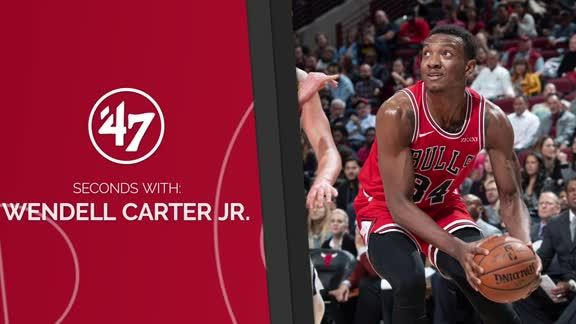 47 Seconds with Wendell Carter Jr.