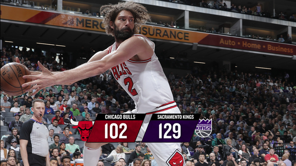 BullsTV Recap: Bulls 102, Kings 129 - 3.17.19