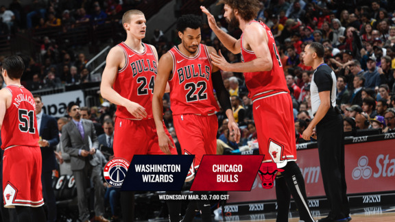 BullsTV Preview: Bulls vs. Wizards - 3.20.19