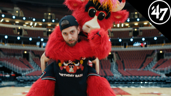 What It's Like Working With Benny The Bull